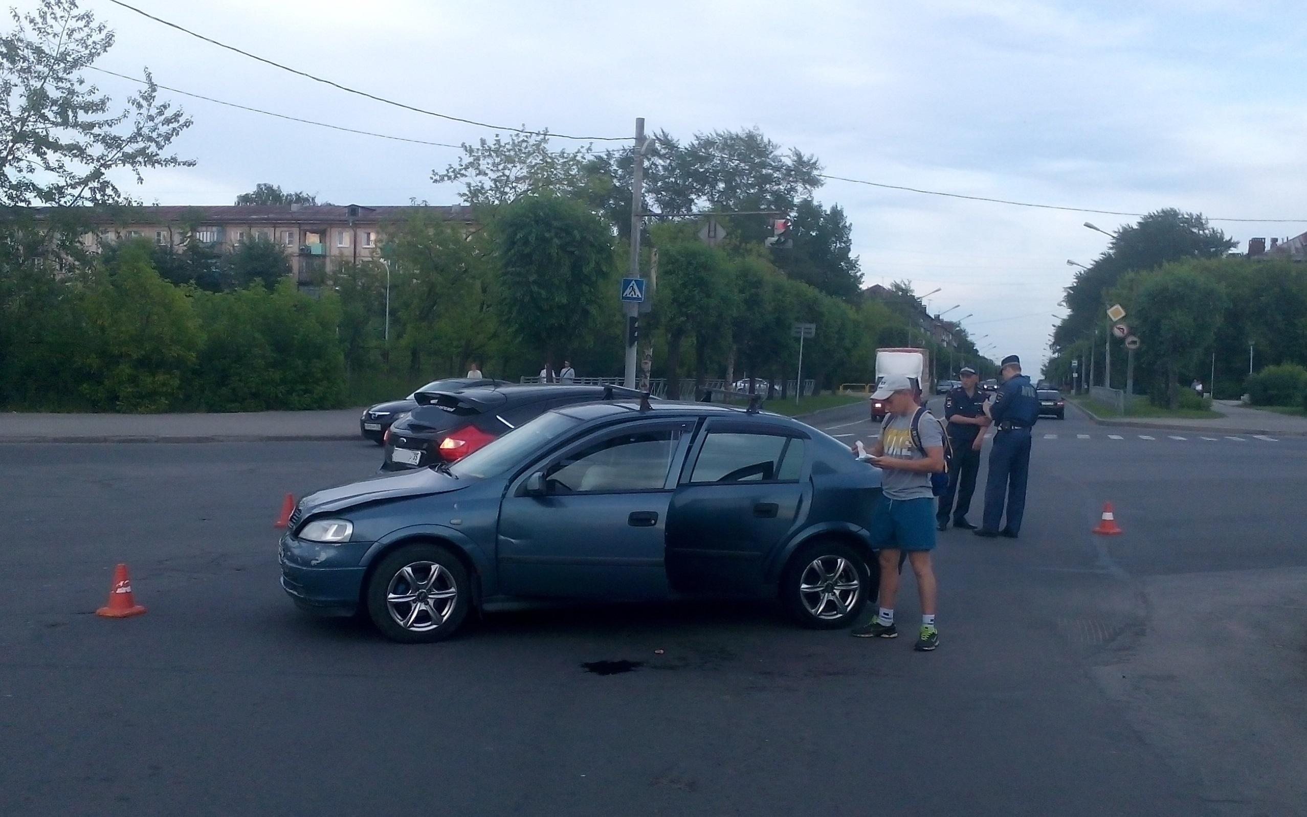 В Череповце два ребенка получили серьезные травмы во время ДТП