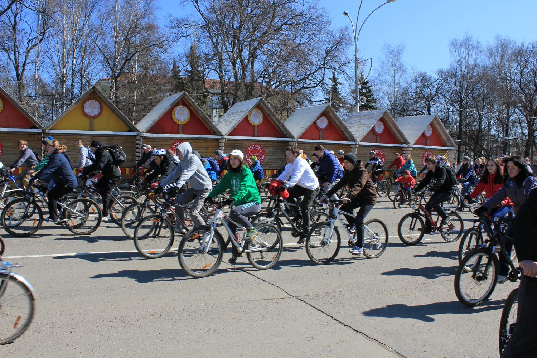 Новый велосезон стартует в Вологде 24 апреля