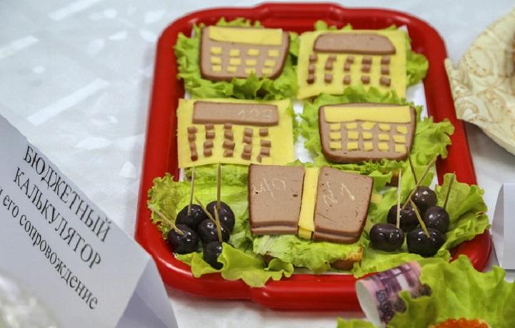 В департаменте финансов Вологодской области выбрали лучший бутерброд