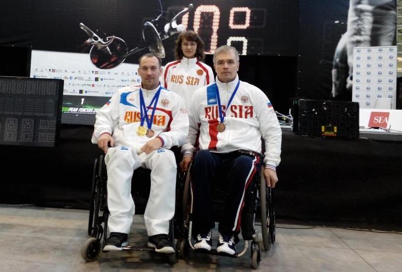 Вологжане завоевали золото и две бронзы на Чемпионате Европы по фехтованию среди спортсменов с поражением ОДА