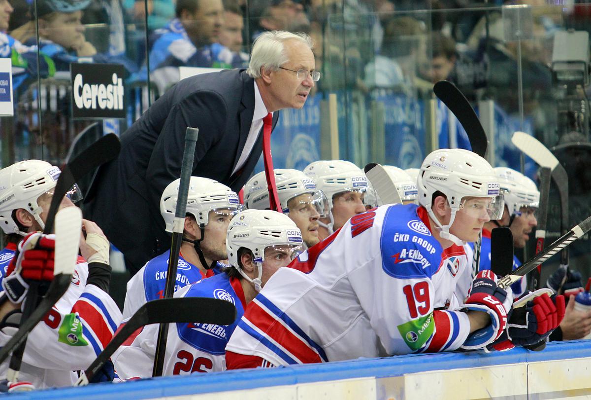 Вацлав Сикора отстранен от должности главного тренера «Северстали»