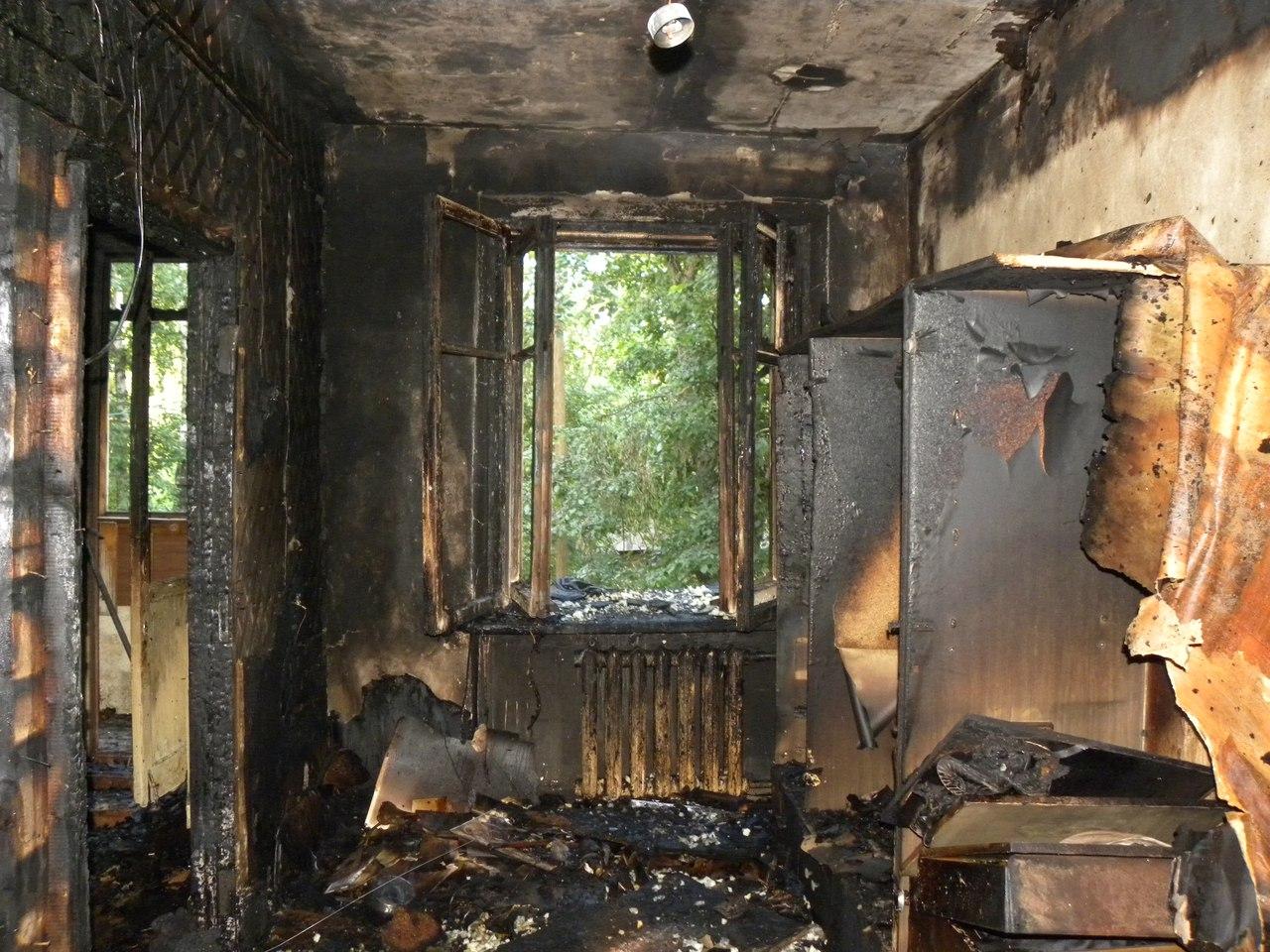 В Вологде пьяная компания устроила пожар на улице Текстильщиков
