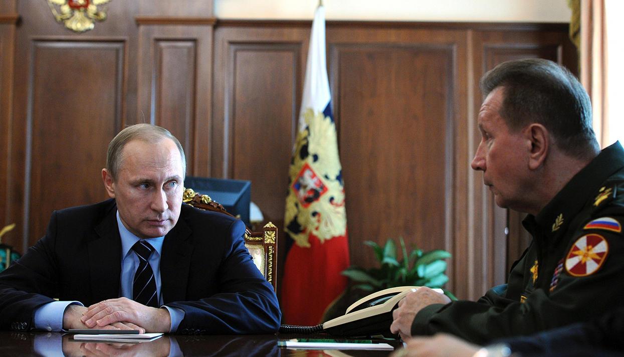 Путин распорядился создать Национальную гвардию
