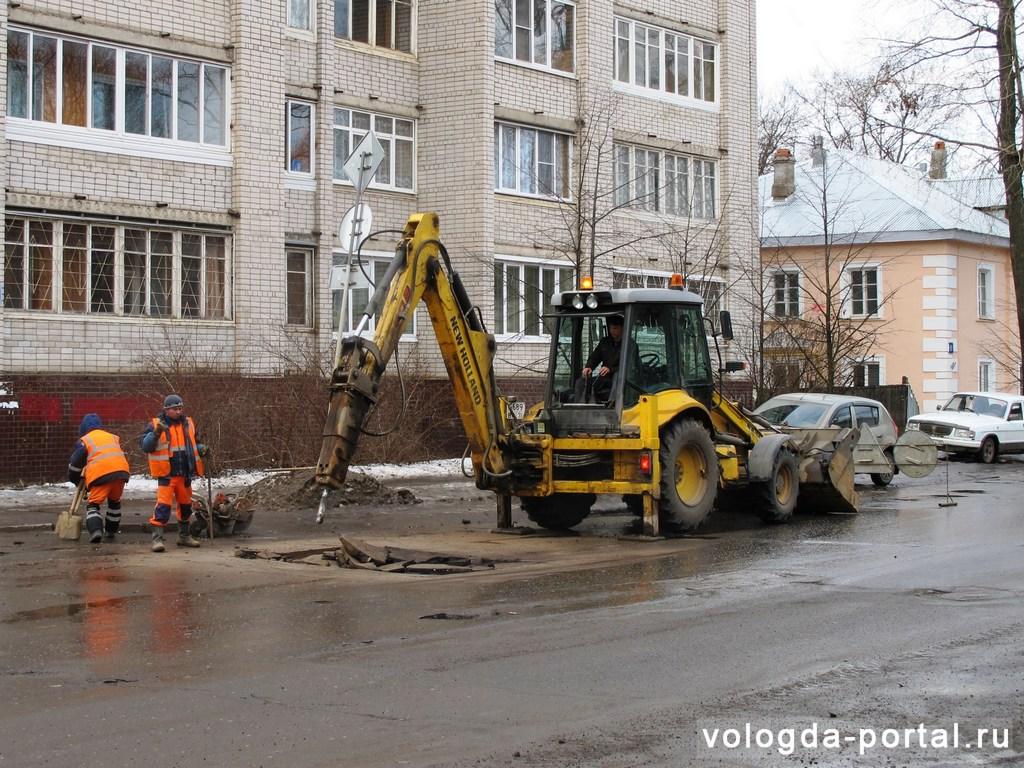 В Вологде вскоре начнут ремонтировать дороги асфальтом