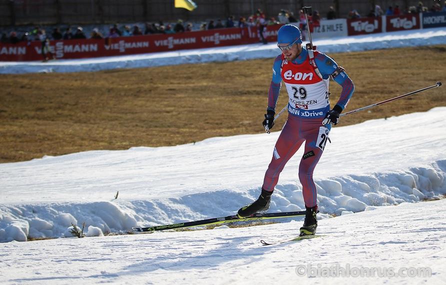 Вологодский биатлонист Максим Цветков занял 11 место на этапе Кубка мира
