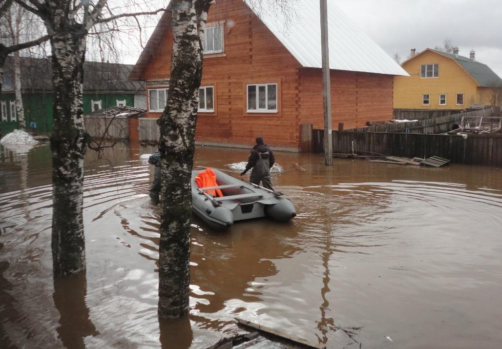 В Вологодской области ввели режим чрезвычайной ситуации