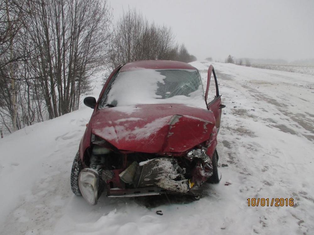 Из-за обгона на дороге Вологодской области погиб еще один водитель