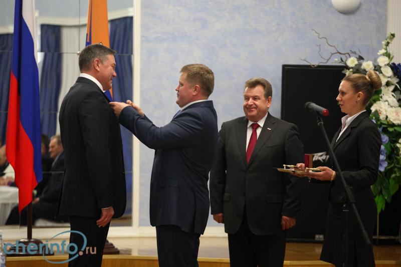 Олегу Кувшинникову присвоили звание «Почетный гражданин города Череповца»