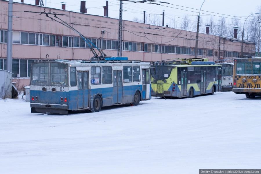 Из-за долгов ОАО «Вологдаэлектротранс» в Вологде могут остановиться троллейбусы