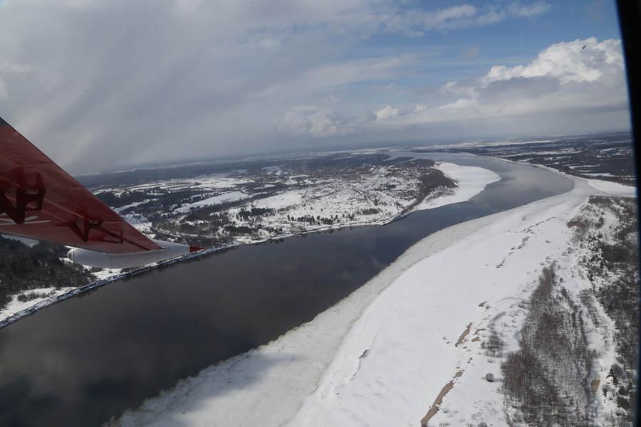 За 6 часов уровень воды в Великоустюгском районе поднялся на 3-16 сантиметров