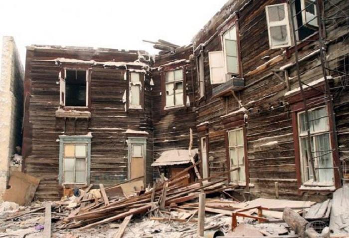В Вологодской области программа переселения из ветхого и аварийного жилья не выполнена даже наполовину