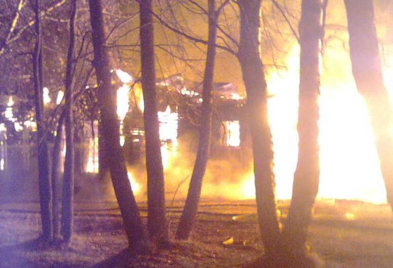 В поджоге больницы в Бабушкинском районе подозревается пациент