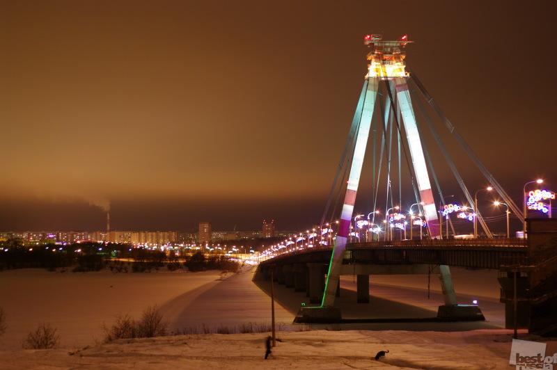 Житель Череповца погиб, прыгнув вниз с Октябрьского моста