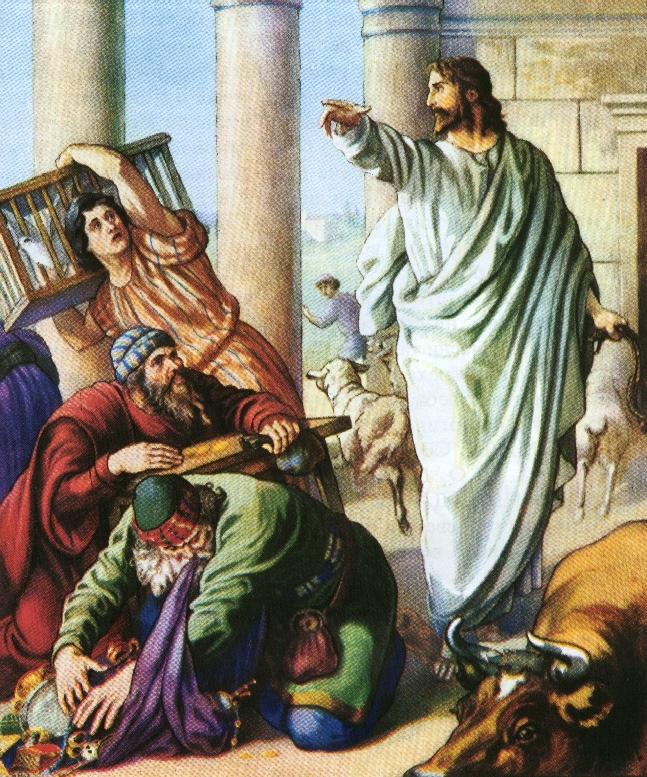 Изгнание из храма: «за» и «против»