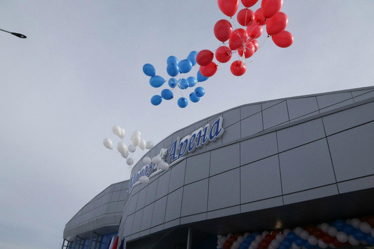 В Великом Устюге открылась «Мороз-Арена»