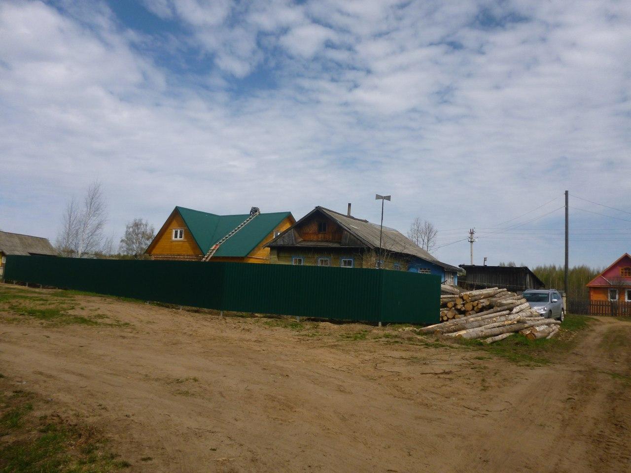 Жители бабаевской деревни оказались отрезаны от внешнего мира