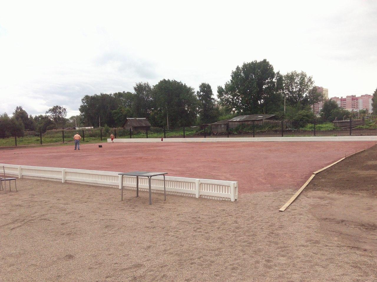 В Череповце в усадьбе Гальских откроют площадку для игры в городки