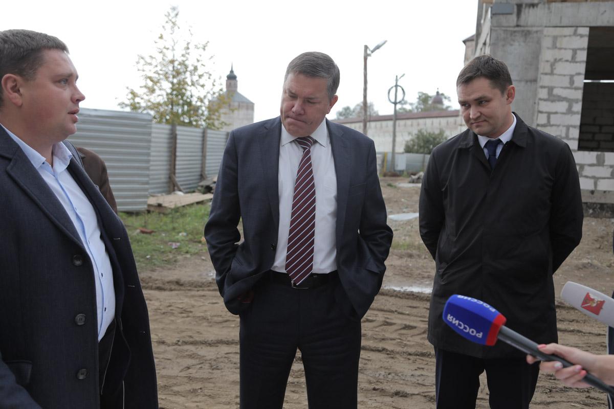 В Кириллове срывают сроки строительства многомиллионного  Центра культуры