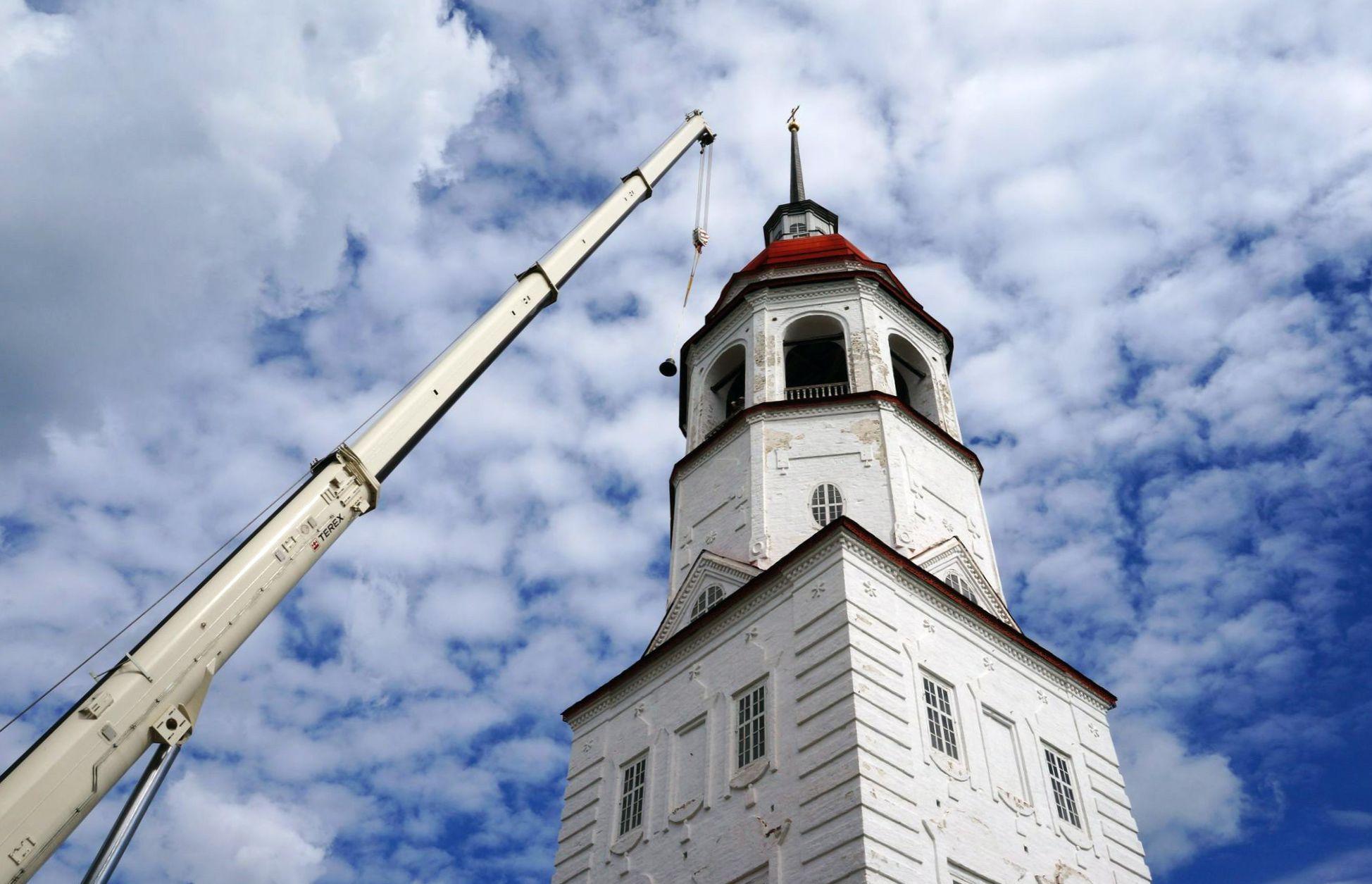 В перезвоне между Тотьмой и Форт-Россом зазвучат три новых колокола