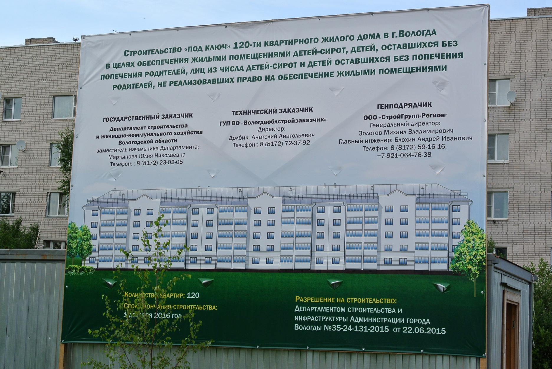 Дом для детей-сирот в Лосте решили строить на соседнем участке