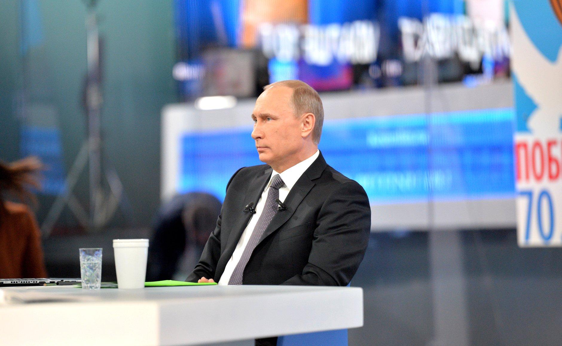 """В подмосковном пансионате прошел кастинг участников """"прямой линии"""" с Путиным"""