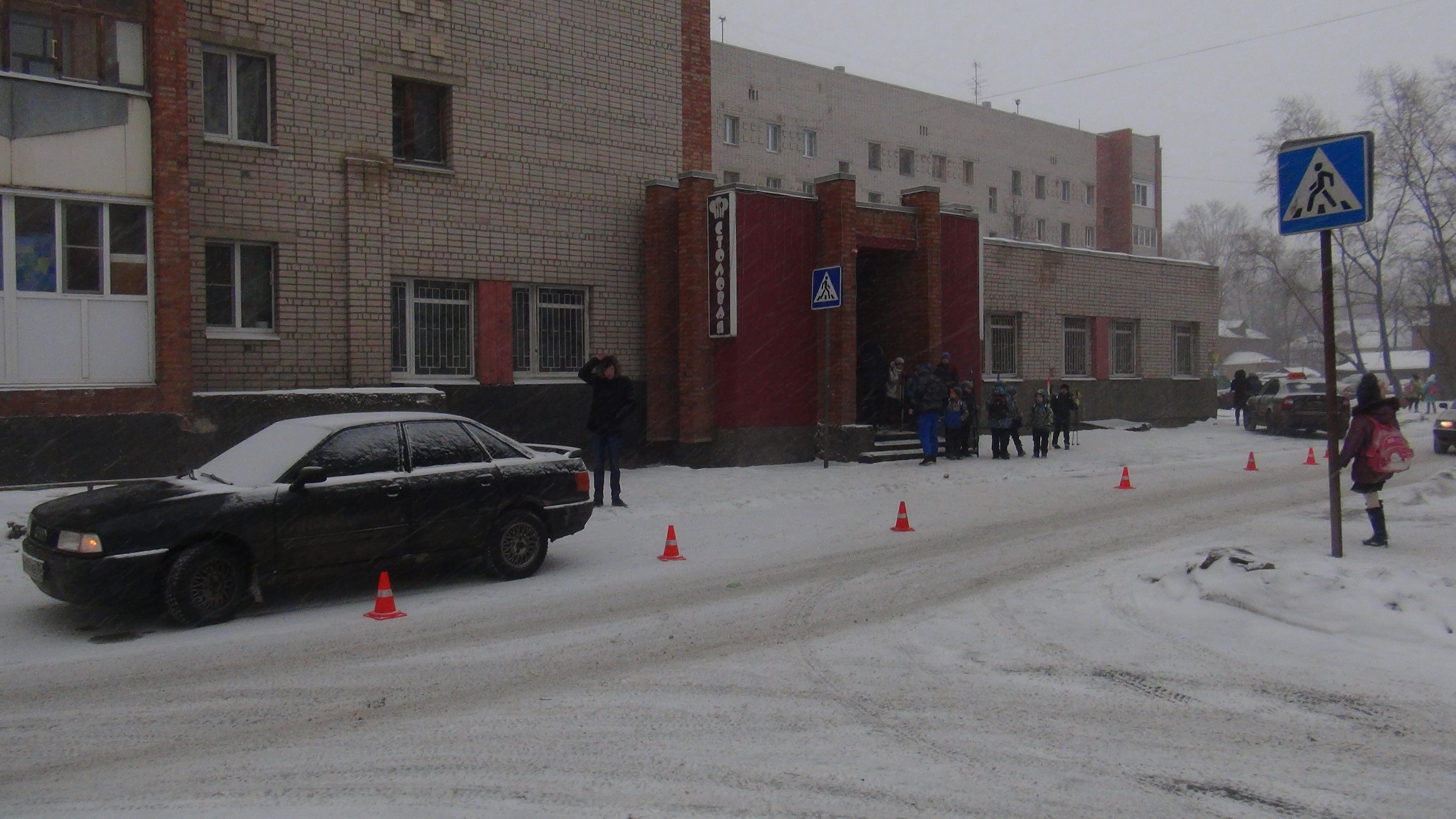 В Вологде на пешеходном переходе на Судоремонтной сбили ребенка