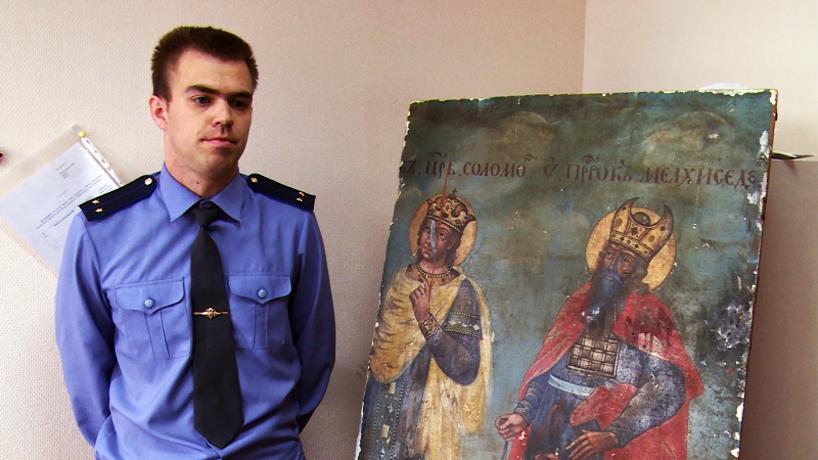 В Вологодской области раскрыта кража иконы с царем Соломоном 18 века
