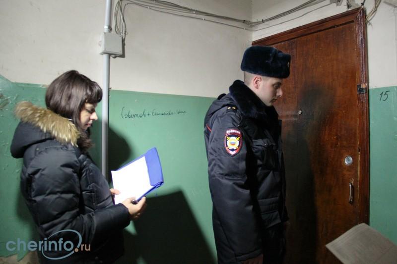 В Череповце у пьяной матери изъяли двух детей