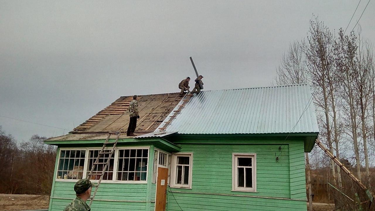 Жители Шекснинского района на свои деньги отремонтировали медпункт