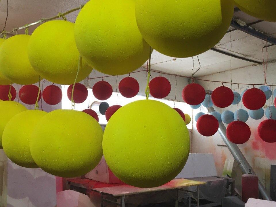 Главные вологодские елки нарядят в шары из пенопласта