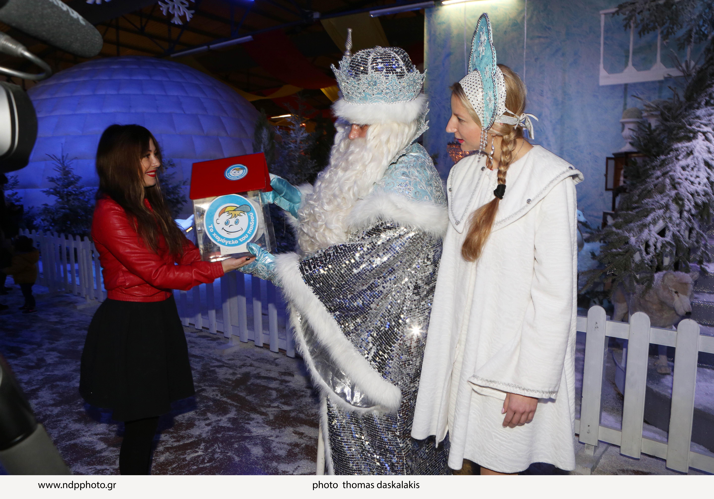 Дед Мороз из Великого Устюга заговорил по-гречески