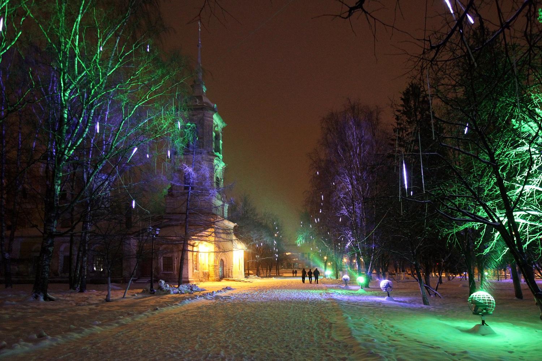 Новогодняя иллюминация обходится Вологде более чем в 3,6 млн. рублей