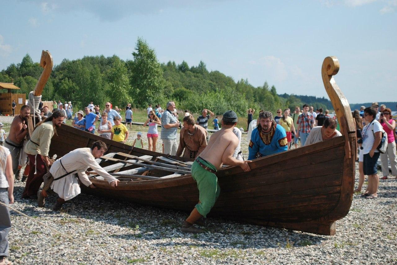 В Кирилловском районе викинги будут штурмовать крепость