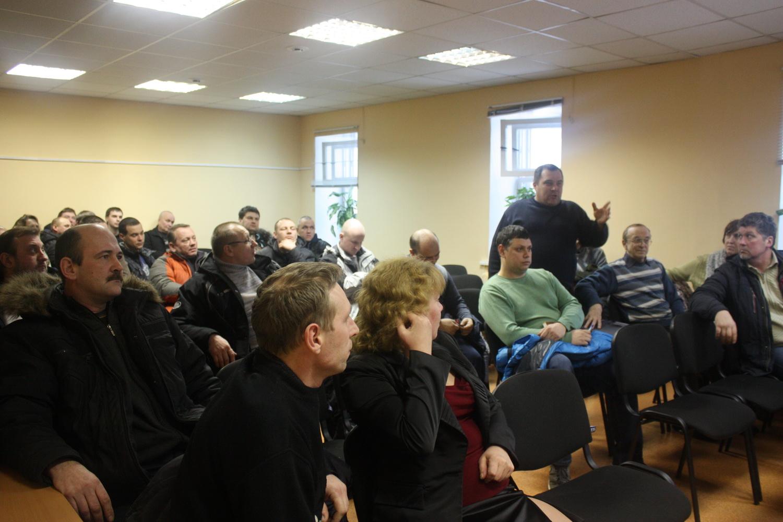 В Вологде дальнобойщики создали региональный союз перевозчиков и профессиональных водителей