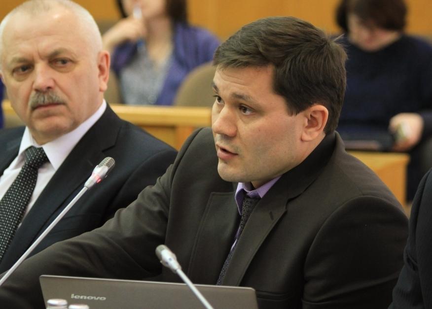 Депутат ЗСО Сергей Воропанов досрочно сложил полномочия