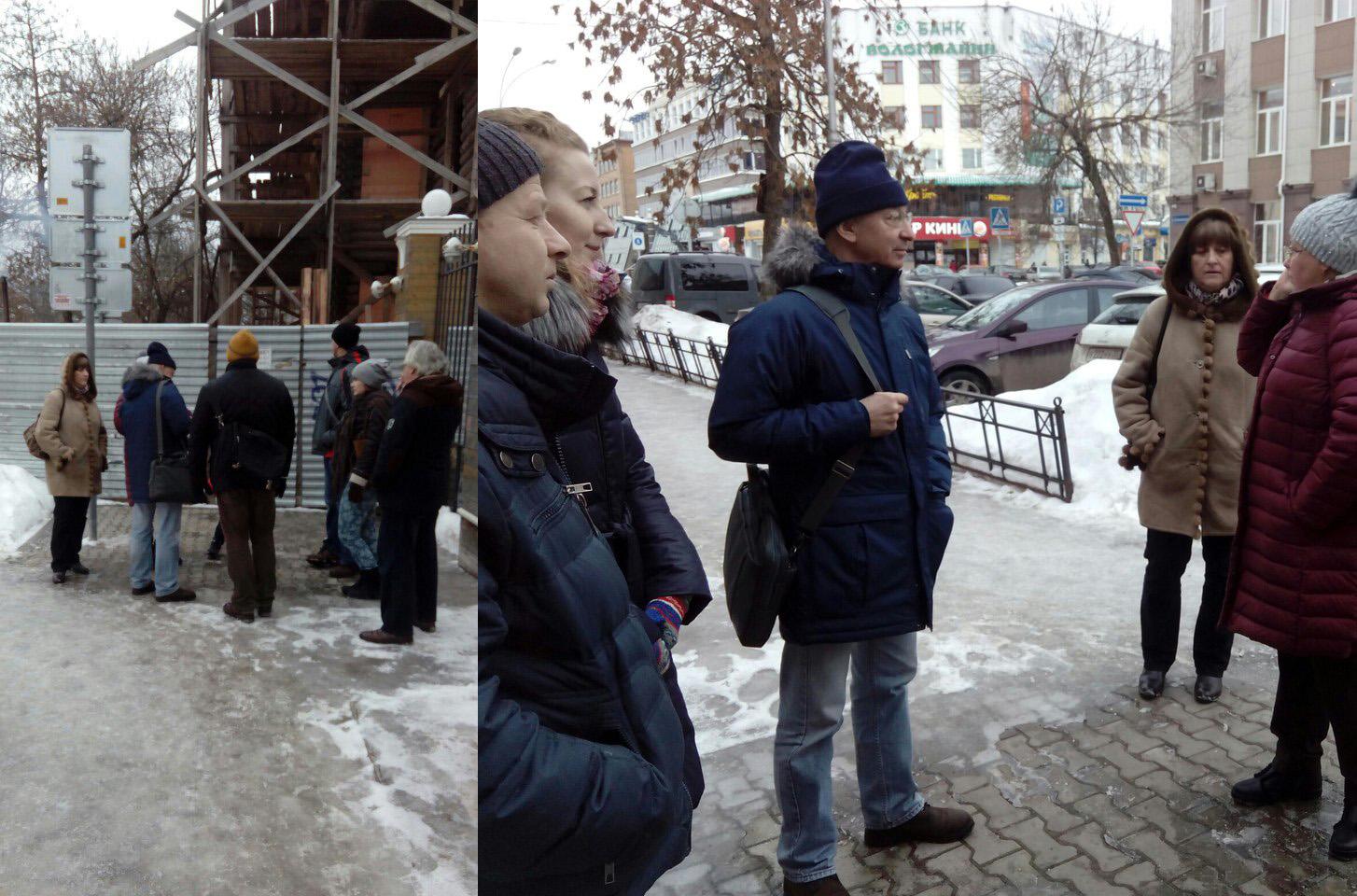 В Вологде казаки не подпускали к Дому кружевниц комиссию Минкульта