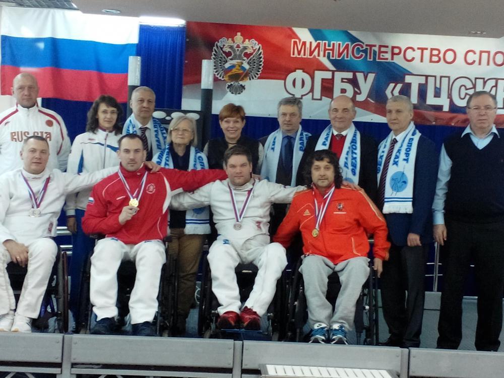 Четыре медали завоевали вологжане на чемпионате по фехтованию среди людей с поражением ОДА