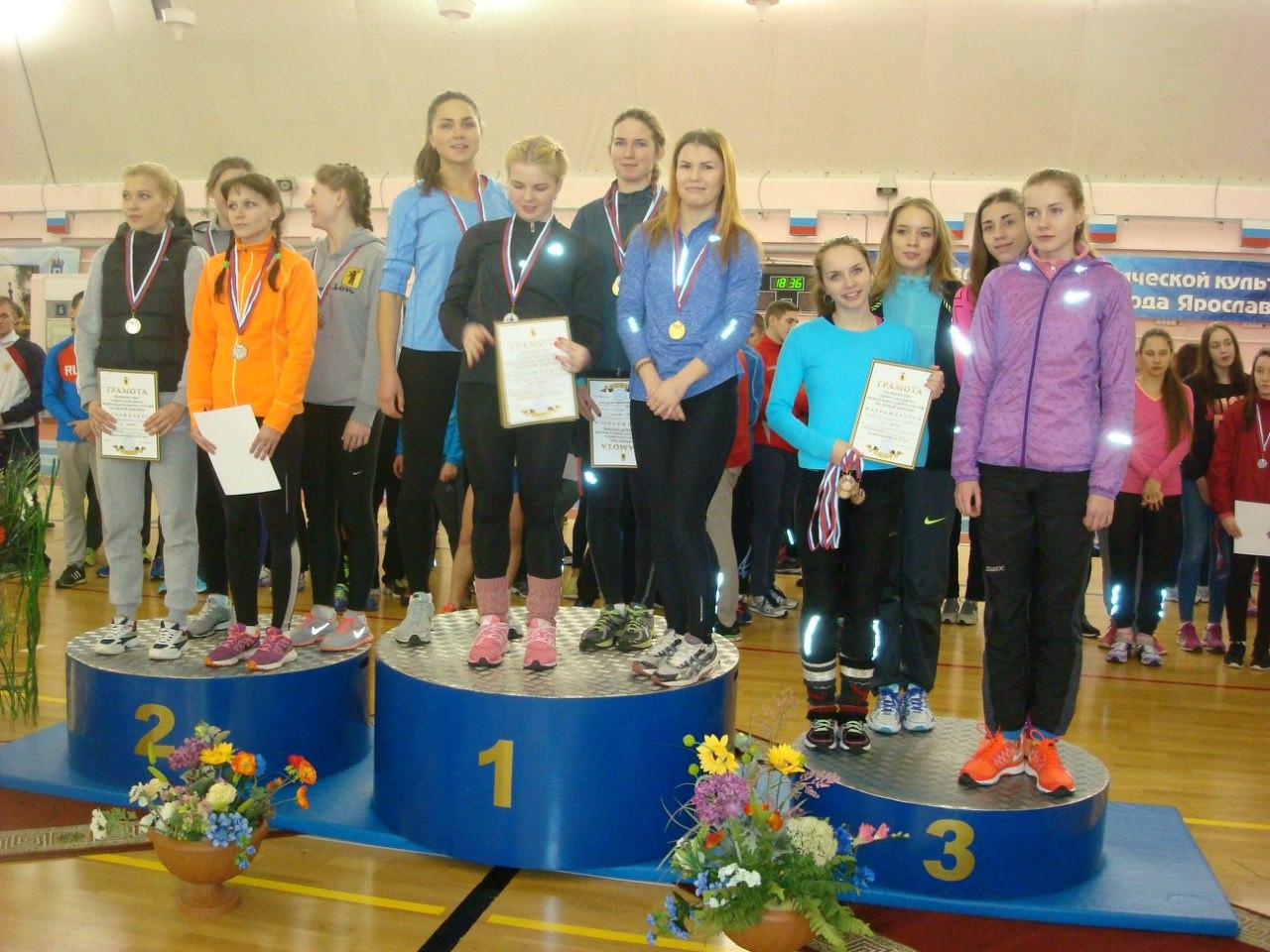 24 медали привезли вологодские легкоатлеты с Чемпионата и Первенства СЗФО