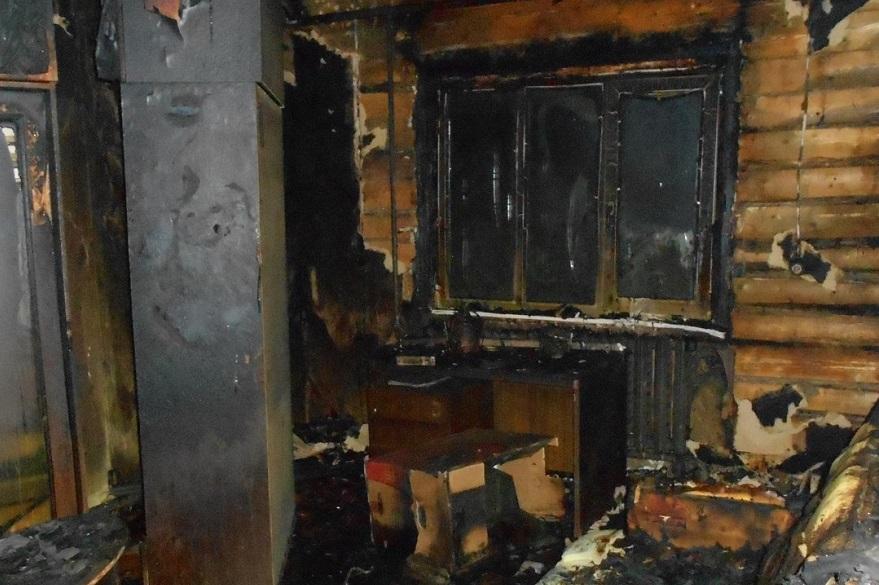 Пенсионерка погибла на пожаре в Липином Бору