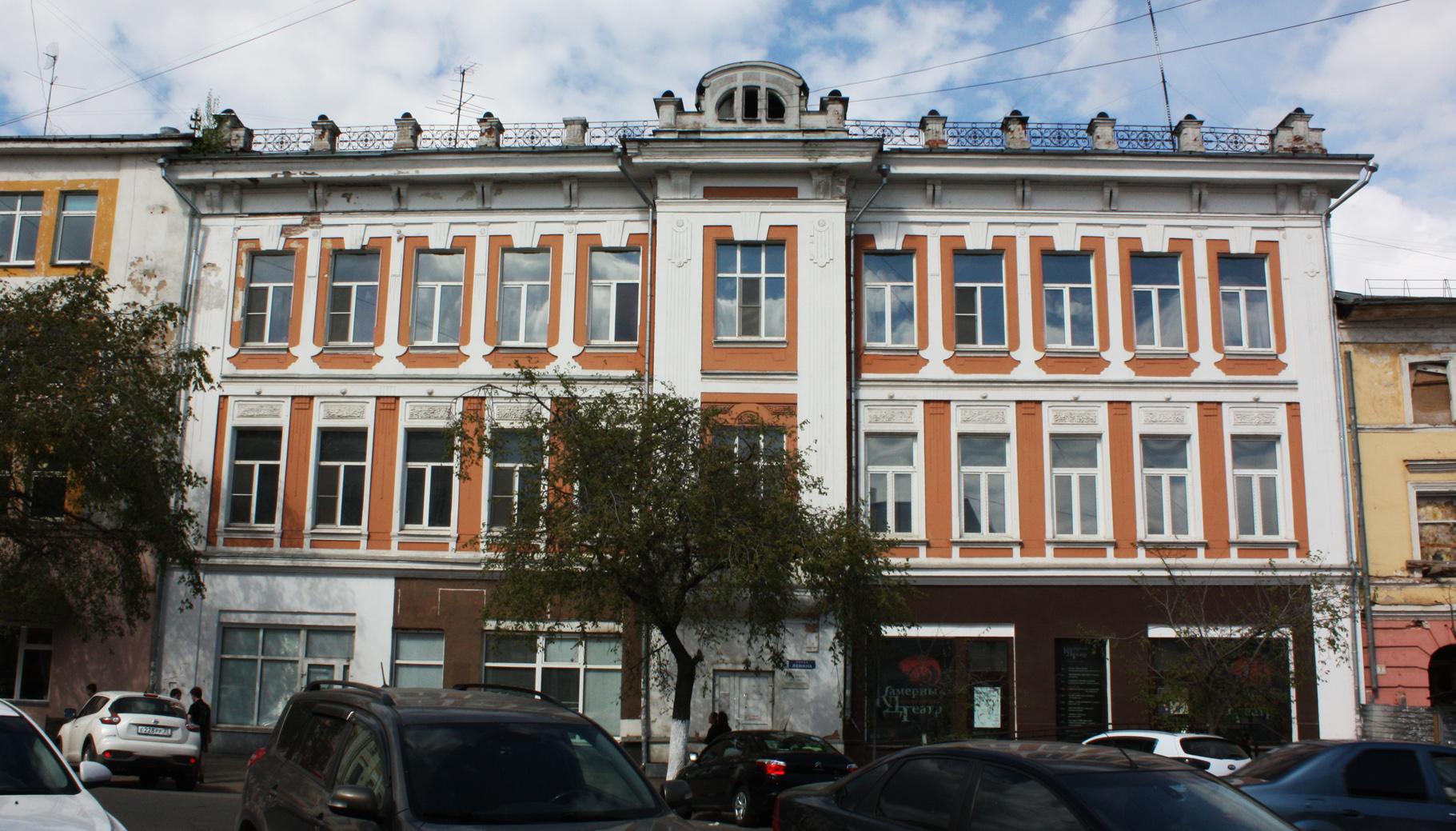 Здание, в котором выступает Камерный театр Вологды, могут выставить на торги уже в августе