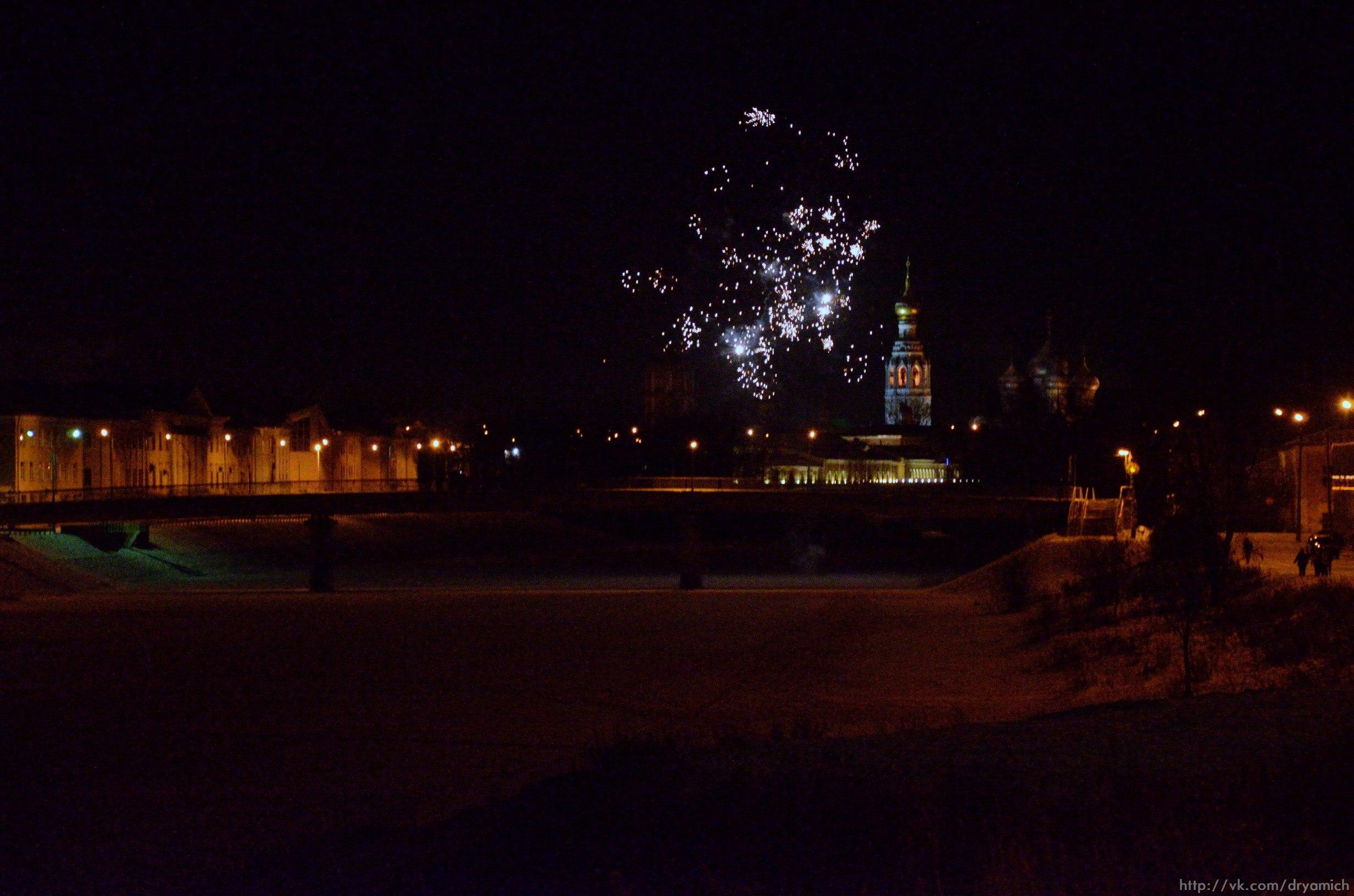 Как Вологда встретила Новый год