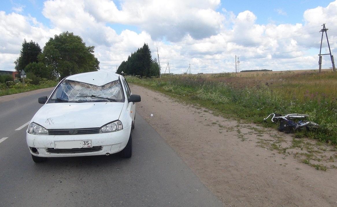 В Грязовце насмерть сбили велосипедиста
