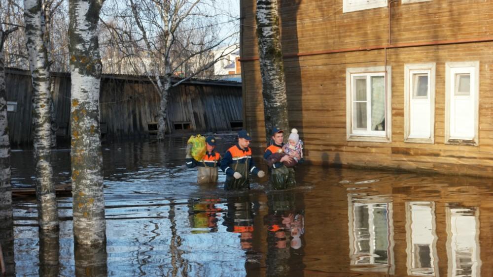 В Великоустюгском районе завершают подсчет ущерба от паводка