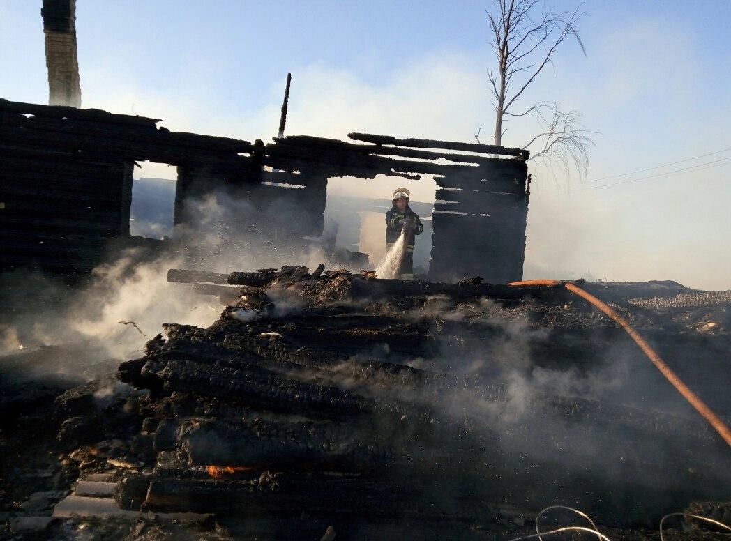 В Сокольском районе во время пожара погибла 38-летняя женщина
