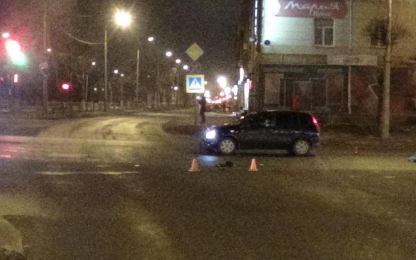 Женщина наиномарке насмерть сбила пешехода вДзержинске