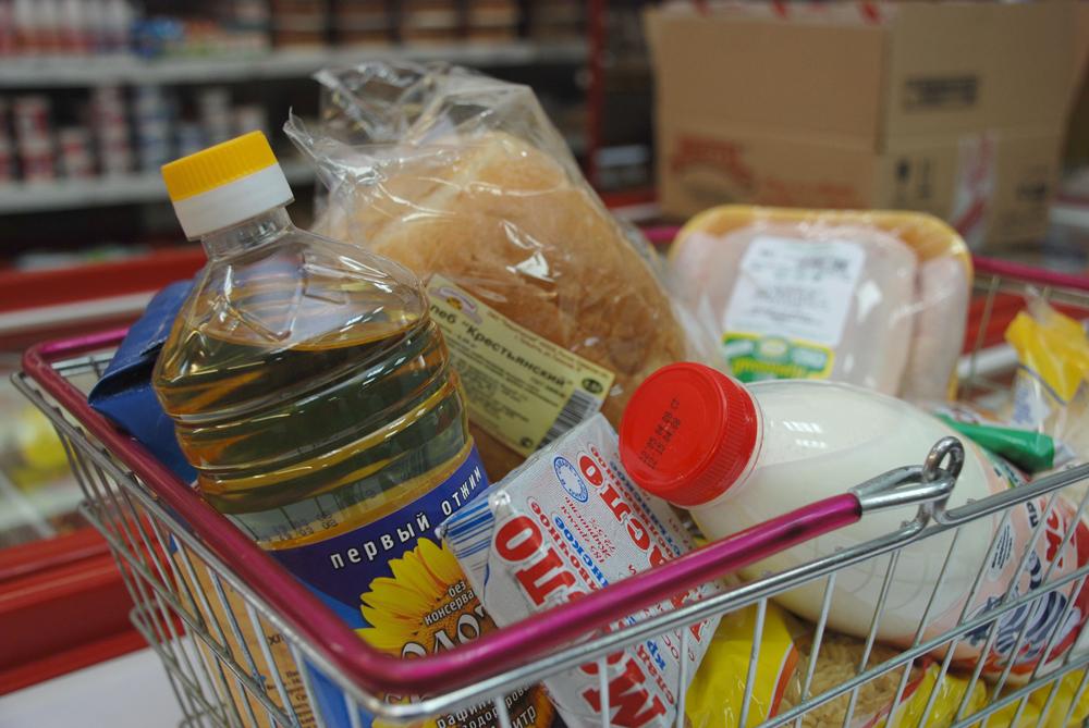 Минимальный набор продуктов питания в Вологодской области на 12% дороже, чем в среднем по России
