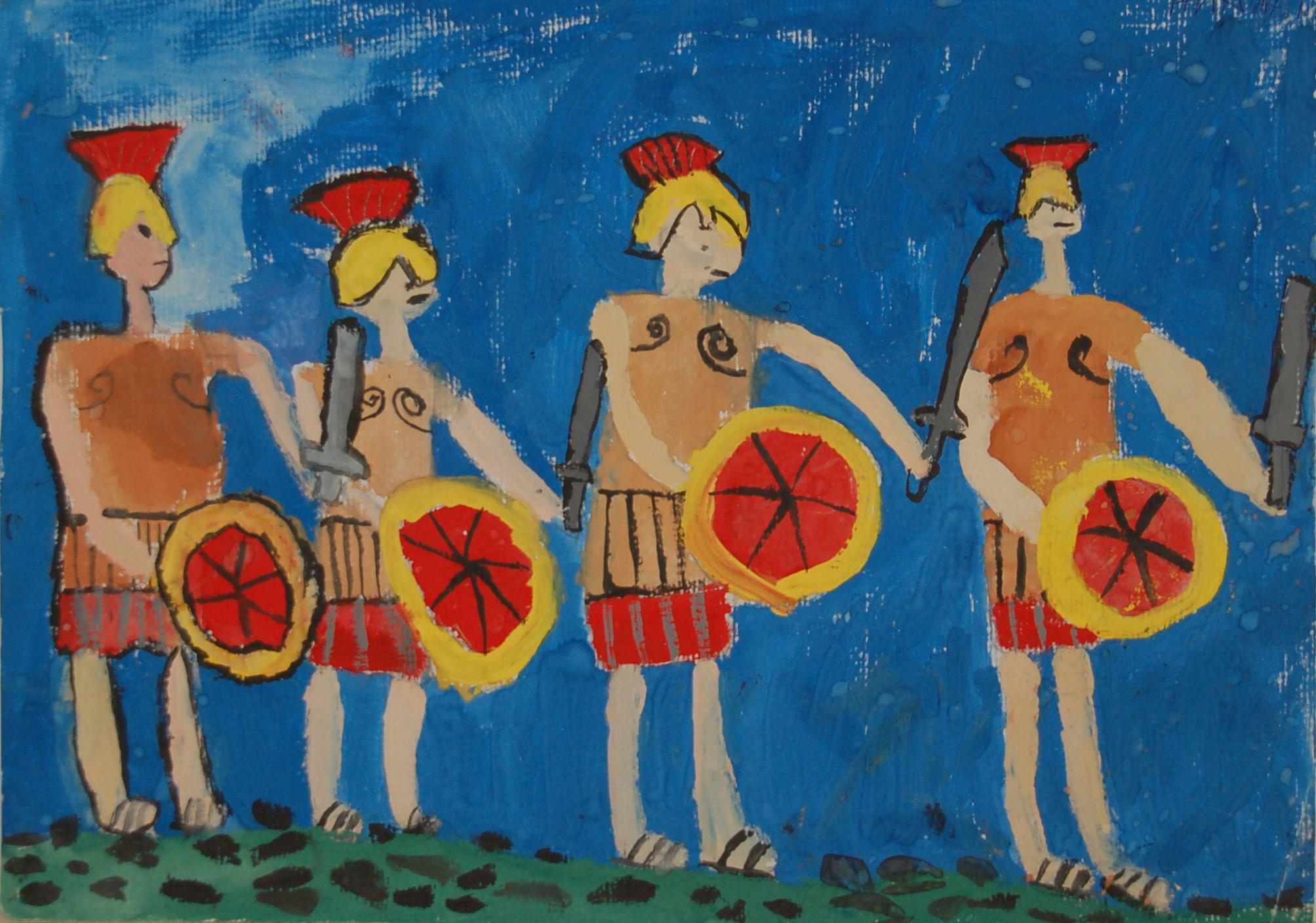 «Эллада становится ближе»: в Вологде пройдет выставка детских рисунков