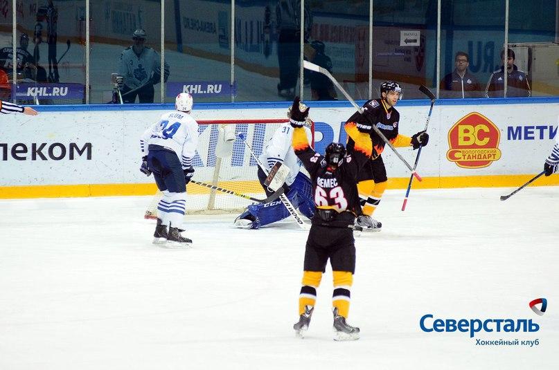 Череповецкая «Северсталь» проиграла «Адмиралу» из Владивостока по буллитам