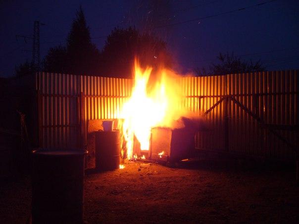 В Вологде неизвестные подожгли будку на территории приюта для бездомных животных