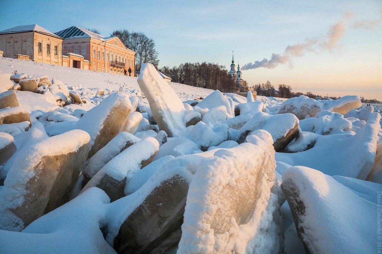 Ледяные заторы в Великоустюгском районе могут  ликвидировать при помощи авиаударов